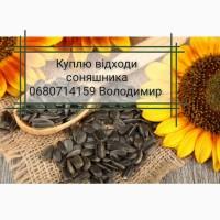 Закуповуємо відходи соняшника по всій Україні