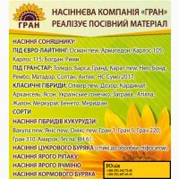 Пропонуємо посівний матеріал соняшнику по АКЦІЇ
