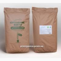Органическая Рожь Цельнозерновая, 25кг мешок, сертифицирована