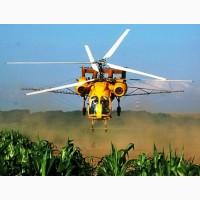 Обробка кукурудзи вертольотом