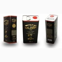 Оливковое масло в жестяной банке 5 литров