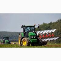 Аренда трактора, услуги пахоты, вспашки полей