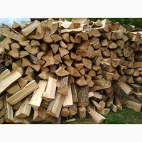 Замовити купити дрова колоті мішаних порід (граб, береза, ясен, вільха, дуб) Горохів