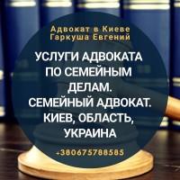 Адвокат по семейному праву Киев