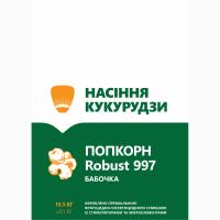Продам семена попкорна (лопающая кукуруза) сорт Robust R997