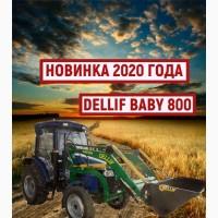 Погрузчик на мини-трактор ДТЗ 5504 К - Деллиф Бейби 800 с джойстиком